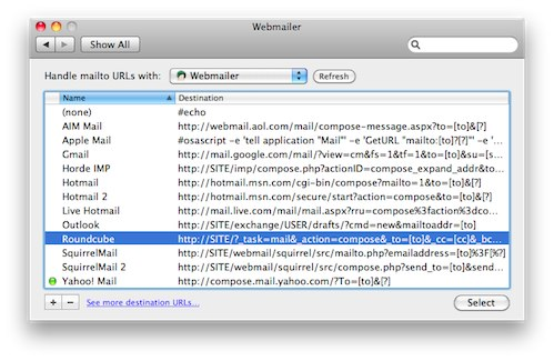 how to change default email client on mac